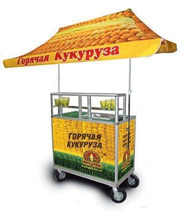 Установка для горячей кукурузы